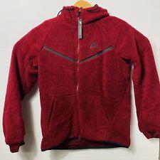Excremento Seguro frutas  Nike Tech Icon Windrunner Hoodie Sz L Aq2767 677 Fleece Supreme Red for  sale online | eBay