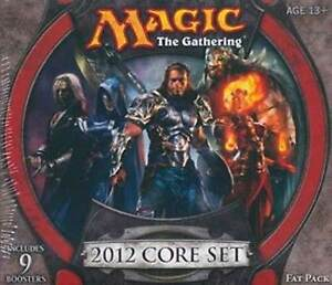 Magic-the-Gathering-MTG-2012-CORE-SET-M12-Factory-Sealed-Fat-Pack-Brand-New