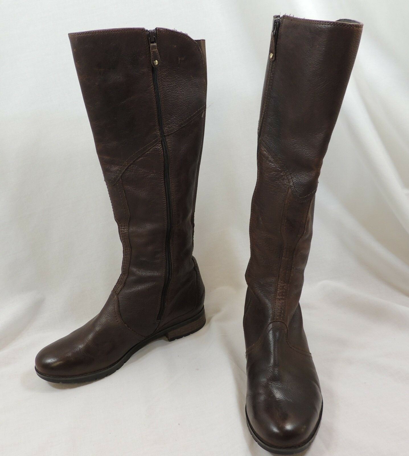 Rockport femmes marron Riding bottes 9 1 2 Leather Hydro Shield Tall