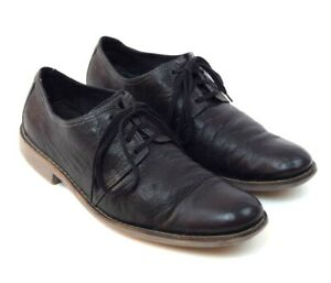 cole haan black leather lace up business casual oxford