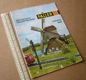 1968 Faller Catalogue - Railway, Aircraft, Slot Car, Lineside Kits. Vintage