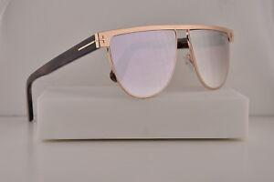 67864506071 Tom Ford FT0570 Stephanie-02 Sunglasses Shiny Rose Gold w Smoke Lens ...