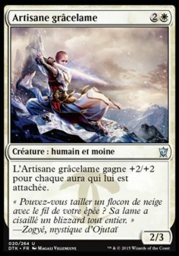 Graceblade Artisan DTK TARKIR #20 FRENCH Magic ▼▲▼Artisane grâcelame