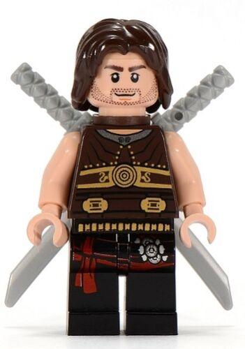 Mini Figure // Mini Fig LEGO Prince of Persia Dastan w// Swords /& Scabbard