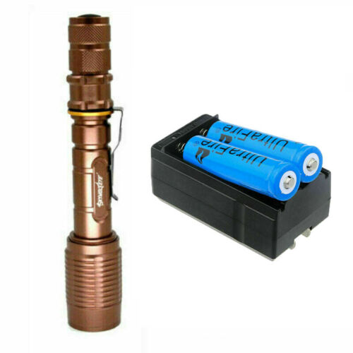 Details about  /US Tactical 350000LM 5 Modes LED Flashlight Zoom Torch Camp Lamp /& Charger Sets.
