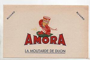 Buvard - Moutarde Amora...moutarde De Dijon. (réf. 70/33) Bwkohsyk-08004330-424793814
