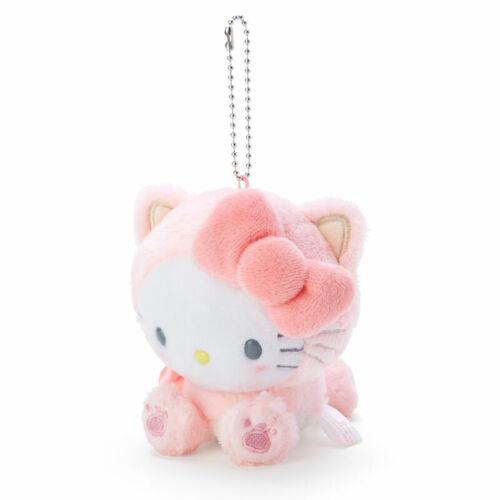 Hello Kitty Mini Plush Doll Mascot Holder Sanrio Konekoneko Cat kawaii 2020 NEW