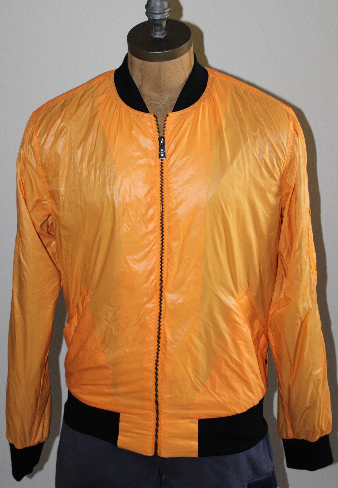 AUTH Adidas SLVR Orange Herrenjacke M / L