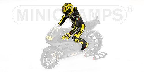 Figurine Valentino Rossi 2010 1 12 Test Ducati MotoGP Valencia