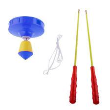Plactic Diabolo Mit Handstäben Und String Jonglier Spielzeug   Orange Farbe