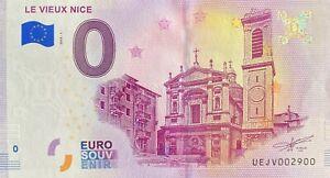 BILLET-0-EURO-LE-VIEUX-NICE-FRANCE-2018-NUMERO-2900
