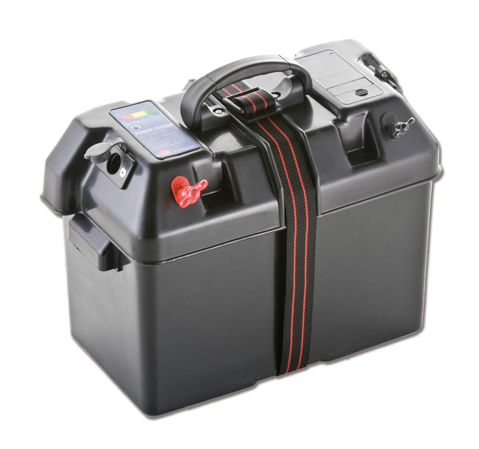 Batteriekasten Jolly Pole außenliegende 2 Zigarettenanzünder Pole Jolly Maße: 325x180x23 c7a47e