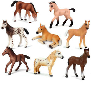 Colt-Foal-Horse-Steed-Figure-Animal-Collector-Toy-Model-Decoration-Kids-Gift