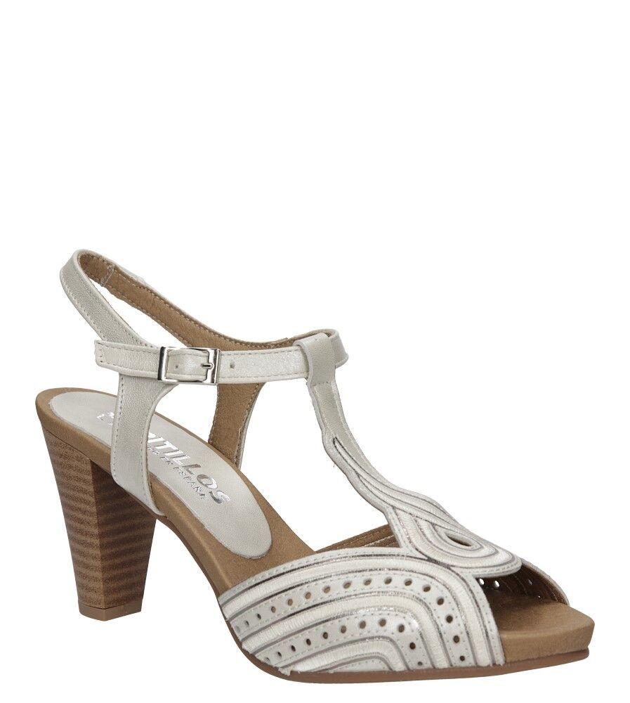 Damen Sandaletten Pitillos Blockabsatz Echtleder Echtleder Echtleder Modisch Sommer Gr. 35-41 NEU  70c742
