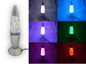 multi color changing usb led glitter lamp party mood night light ebay. Black Bedroom Furniture Sets. Home Design Ideas