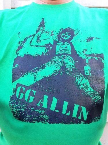 GG Allin Drunk Shirt S M L XL Choose Size//Color All Variations