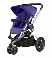 Quinny Buzz Xtra Purple Pace Standard Single Seat Stroller