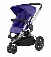 Quinny Buzz Xtra Purple Pace Standard Single Seat Stroller Strollers