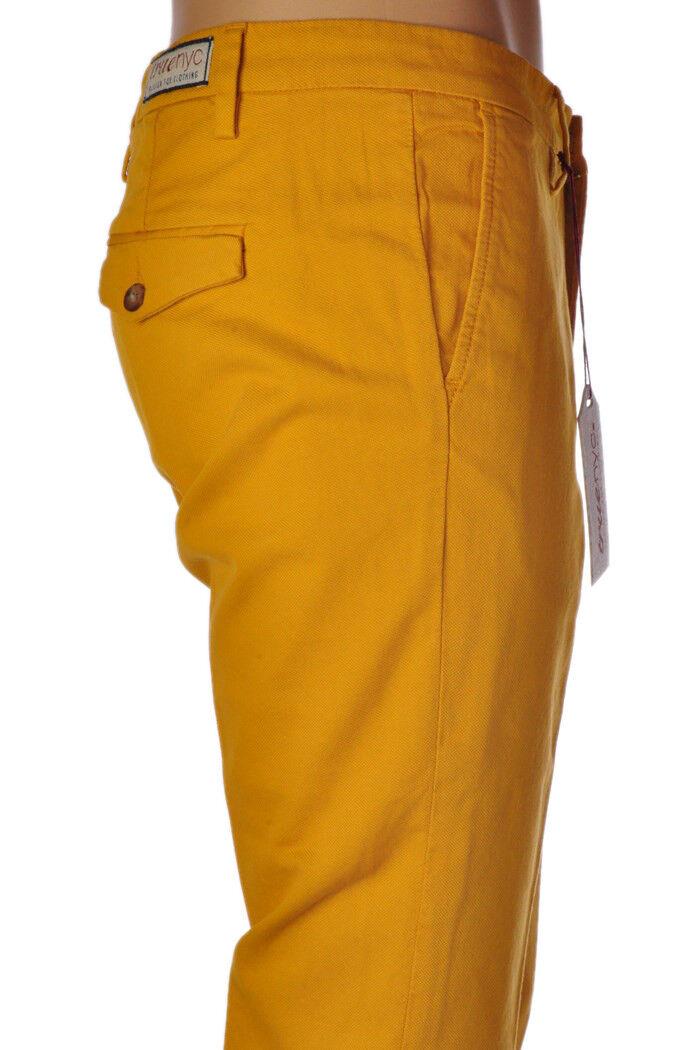 Truenyc  -  Pants - male - Yellow - 322027A184715