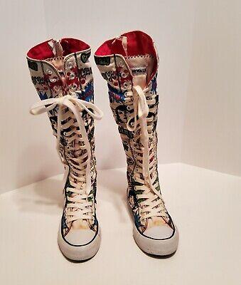 Airwalk Womens Knee High Sneakers Shoes