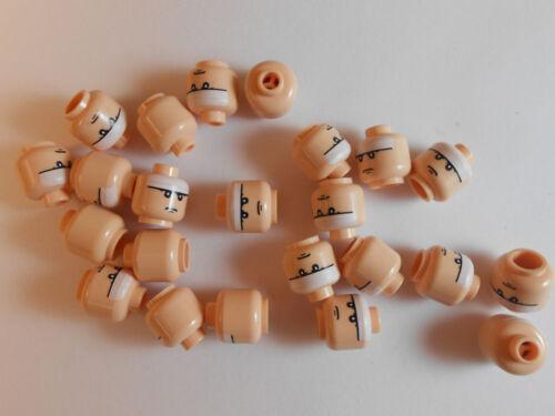 ROBIN JOKER MINIFIGURE FREE SHIPPING LOT OF 35 HEADS NEW! LEGO BATMAN HEAD
