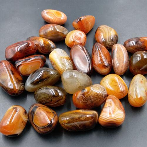 1PCS Natural Agate Rocks Polished Stone Specimen Gemstone Collectables Crafts