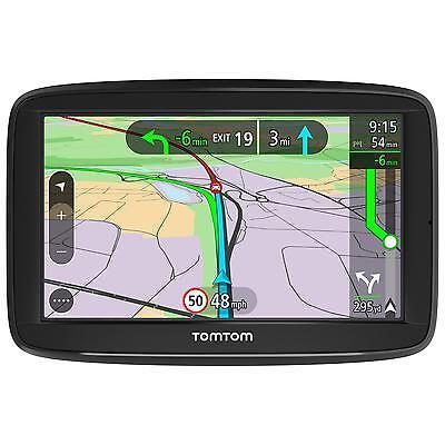 "TomTom Via 52 5"" Sat Nav UK Europe Lifetime Traffic Map Updates Bluetooth"