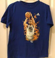 NEW NBA Steph Curry SC 30 Youth L 14-16 Golden State Warriors Dubs Shirt Jersey