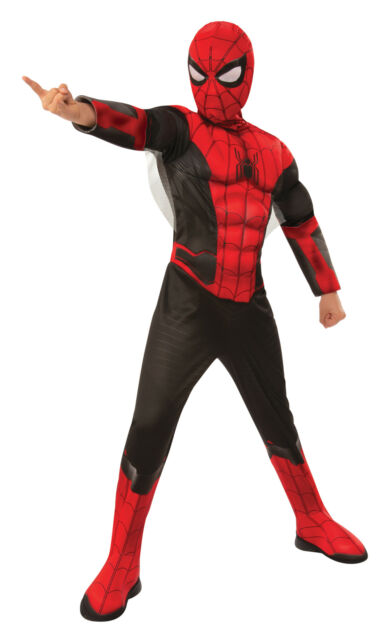 Halloween Spiderman Avengers Endgame Iron Spider Man Costume Boys Large 12-14 GG