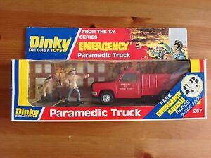 Dinky 267 Camion Ambulancier D'urgence Et En Boîte