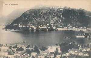 POSTCARD-ITALY-Como-e-Brunate