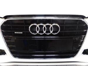 Original-Audi-A4-S4-8K-B8-Parrilla-Negro-Brillante-8K0853651F-T94