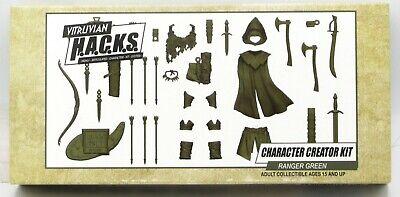 Boss Fight Studios RANGER GREEN HACKS Character Builder Kit