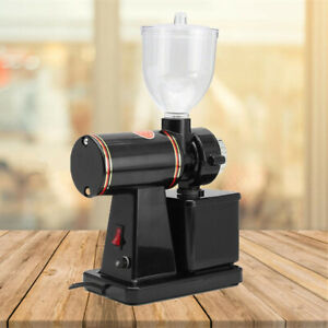 Black-Commercial-Coffee-Grinder-Electric-Automatic-Burr-Mill-Espresso-Bean-100W
