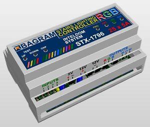 Professional Stairs lighting RGB Color illumination Controller STX-1796