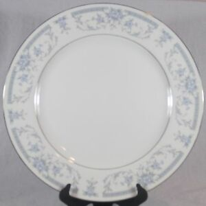Image is loading Sheffield-Blue-Whisper-China-Dinner-Plate-10-034- & Sheffield Blue Whisper China Dinner Plate 10