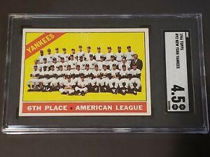 1966 Topps #92 SGC 4.5 Newly Graded & Labelled