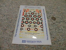 Microscale  decals 1/72 72-447 SBD and A-24 Marine Air Enterprise Group    WW