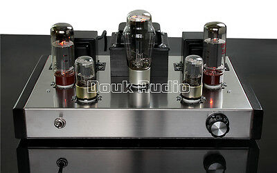 Douk Audio EL34 Vacuum Tube Amplifier HiFi 2.0 Channel Stereo Integrated Amp 26W