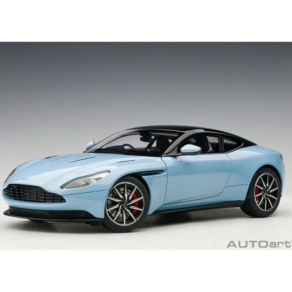 AUTOart 70268 Aston Martin DB11 1 18 Model Car Q Frosted Glass bluee