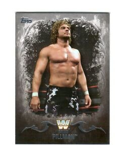 WWE-Brian-Pillman-50-2016-Topps-Undisputed-Silver-Parallel-Card-SN-44-of-50