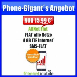 Details Zu Vodafone D Netz 4gb Lte Allnet Flat Nur 1599 Mtl Ohne Vertrag