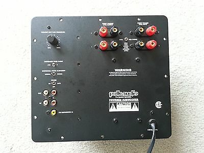 Polk PSW650 Powered Subwoofer Amplifier Plate Repair Service