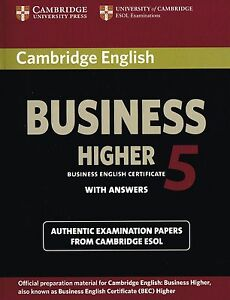 Cambridge-English-BUSINESS-HIGHER-5-BEC-Student-039-s-Book-with-Answers-NEW