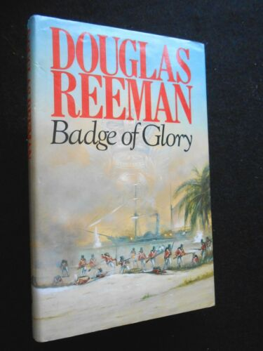 1 of 1 - Douglas Reeman - Badge of Glory - 1982-1st (Blackwood Series/Royal Marines #1)