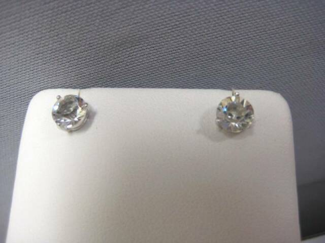 5399666f5 Swarovski Crystal Solitaire Pierced Earrings 1800046 for sale online ...