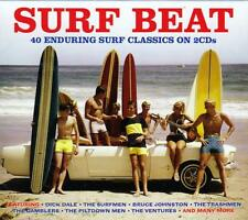 SURF BEAT - 50 ENDURING SURF CLASSICS - VARIOUS ARTISTS (NEW SEALED 2CD)