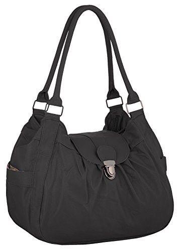 Womens Messenger Shoulder Handbag Faux Leather Ladies Double Strap Purse Bag