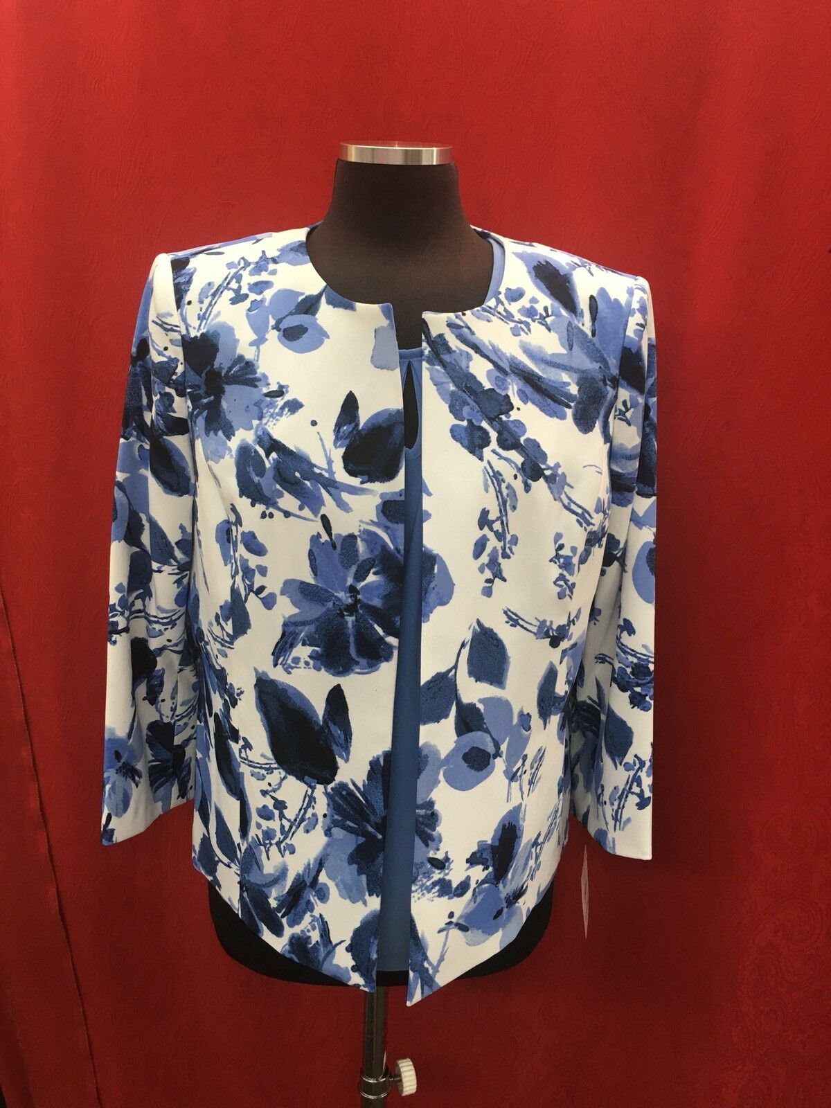 KASPER BLAZER TANK NOT INCLUDED SIZE 16 LINED RETAIL NEW WITH TAG