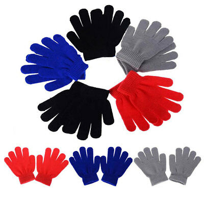 Assorted Colours NEW Kids Magic Gloves Warm Thermal